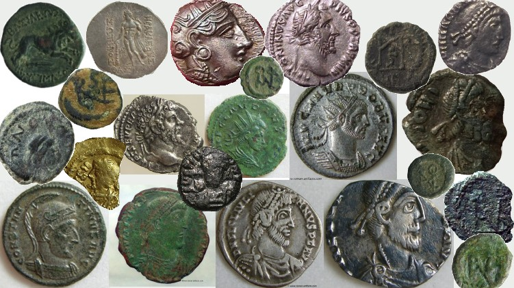 Roman and Greek Coins