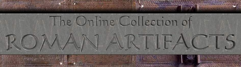 The Online Collections of Roman Artifacts