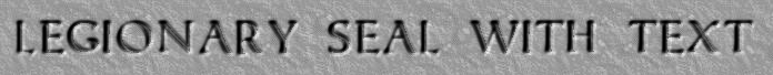 Lead Seal with letters